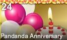 2nd Pandanda Anniversary!