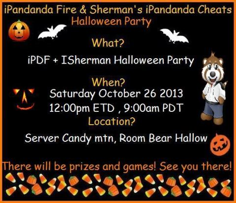 iPDF Sherman Halloween Party